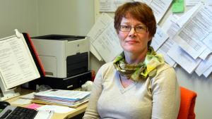 Monica Nyman, föreståndare på Malmögårdens daghem.