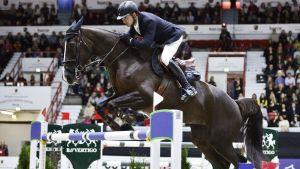 Romain Duguet med hästen Quorida de Trehot