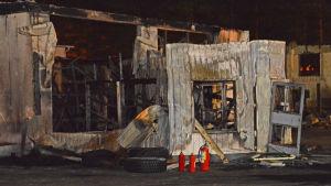 Euromaster dagen efter branden