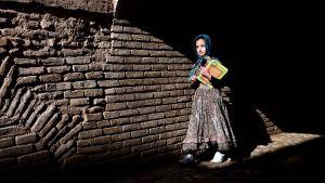 Flicka i Afghanistan.