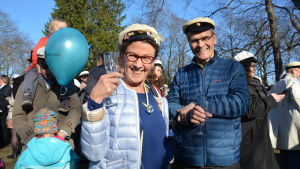 Valborg på Vårdberget.