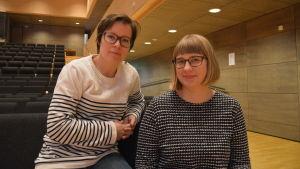 Jeanette Östman och Maria Swanljung.