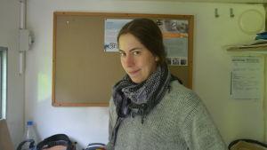 Forskare och arkeolog Elina Terävä.