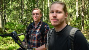 Joel Jokelainen och Emil Nygård
