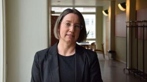 Pia Polsa på Svenska handelshögskolan.
