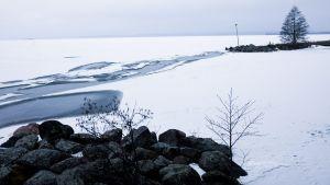 En man i 40-årsåldern drunknade i Vääksy den 2 mars.