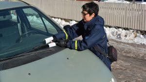borgå stads parkeringskontrollör susanne fredriksson