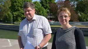 Seppo Pihl och Hedi Saaristo-Levin
