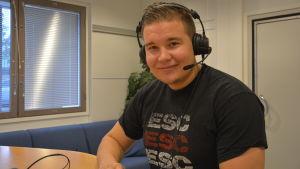 Daniel Westerlund, tränare för Ekenäs Sportclub.