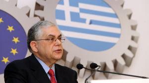 Lucas Papademos, tidigare premiärminister i Grekland