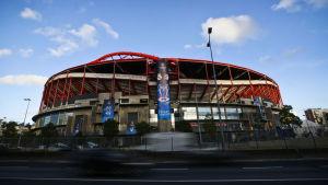 Estadio da Luz i Lissabon är finalarenan för Champions League 2013-2014.