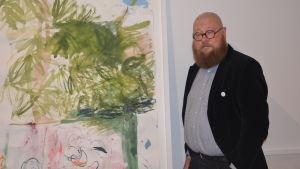 Juha-Heikki Tihinen är kurator för Kräftskivan