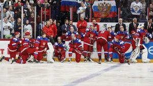 Ryssland deppar efter silvret i VM