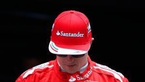 Kimi Räikkönen, maj 2014