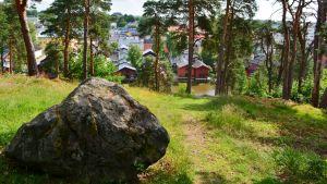 Utsikt över Borgå