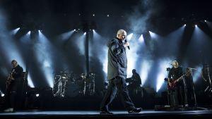Peter Gabriel på sin turné Back to Front.