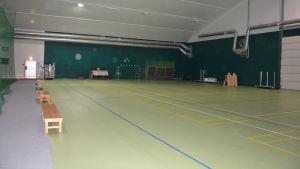 Ingå allaktivitetshalls del för olika bollspel