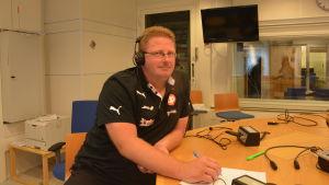 Glenn Lignell, verksamhetsledare iIF Raseborg