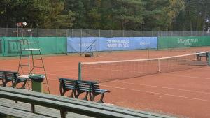 Tennisplan i Hangö