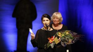 Kristina Sandberg har tilldelats Augustpriset för Årets svenska skönlitterära bok.