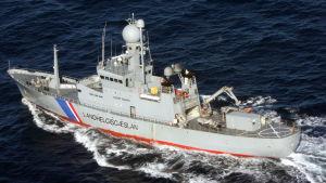 Det isländska kustbevakningsfartyget Týr.
