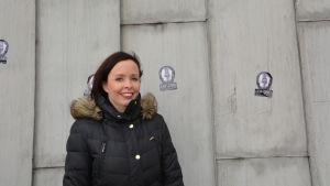 Åbo filharmoniska orkesters intendent Emilie Gardberg.