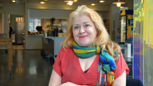 Johanna Maula från Helsingfors.