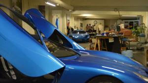 Här i Pojo har den första konceptbilen Toroidion skapats.