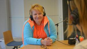 Maria Söderholm i Sportmåndag 10.8.2015.