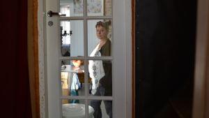 Kati Kivilahti-Fagerudd i familjens hus i Lovisa