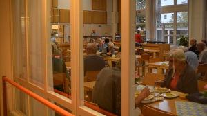 Matsalen i Äppelbackens servicecenter