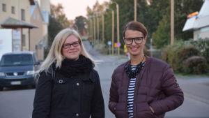 Susan Korppila och Linn Jung i Brändö