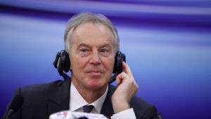 Tony Blair, tidigare premiärminister i Storbritannien