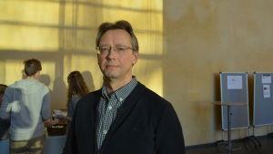 Jan Grannäs från Högskolan i Gävle.