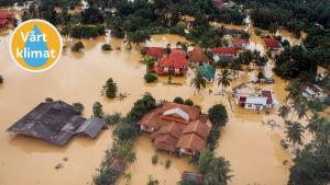 Översvämningarna 2014 i Malaysia beskrivs som de värsta på 30 år.