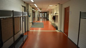 korridor i S.t Karins svenska skola