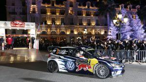 Jari-Matti Latvalas bil i Monte Carlo.