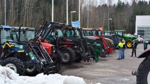 Traktorer.
