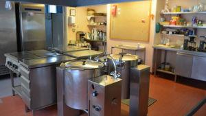 Köket i den gamla Kuggomskolan.