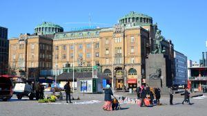 Torget i Vasa.