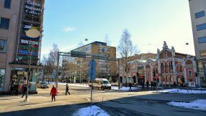 Vasaesplanaden i Vasa.