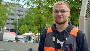 Riku Leinonen från BBJ Vasa.