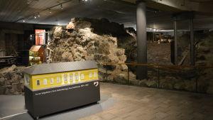 Ruiner och utställning i Aboa Vetus & Ars Nova.