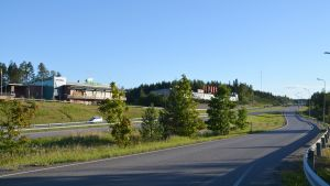 ABC och Tokmanni i Gammelby.