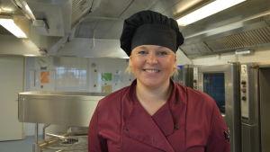 Anja Lillqvist, bespisningschef i Sursik.