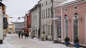 Vinter i Borgå gamla stad