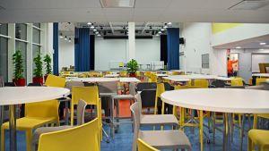 Lyceiparkens skolas mat-aoch festsal i borgå