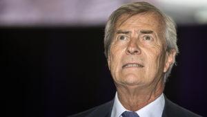 Franska industriledaren och tv-kanalägaren Vincent Bolloré.