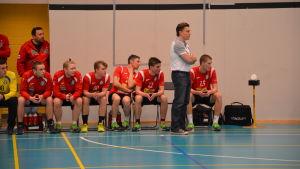 Pargas IF mot Åbo IFK i herrarnas FM-liga i handboll, 4 februari 2017.
