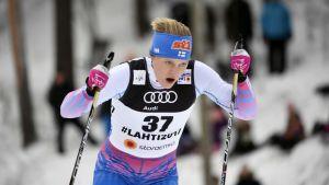 Andrea Julin, VM i Lahtis 2017.
